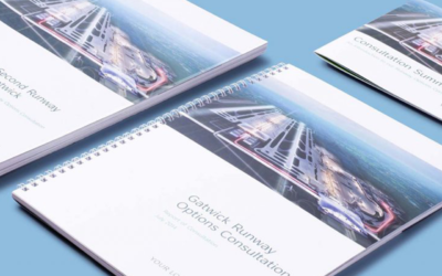 Gatwick Airport document and report design